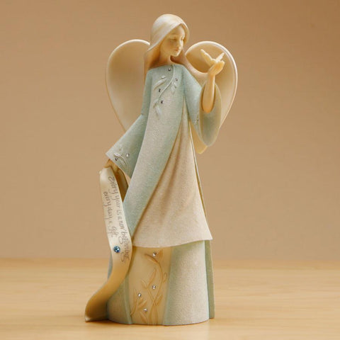 "Foundations ""December"" Birthstone Angel"