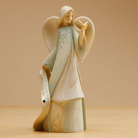 "Foundations ""May"" Birthstone Angel"