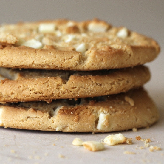 White Chocolate Macademia Nut Cookies (dozen)