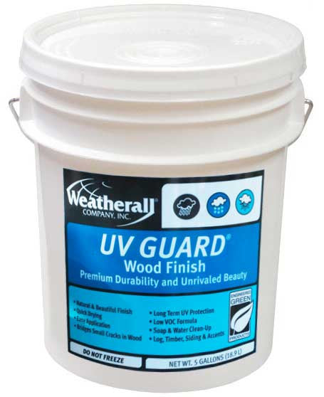 UV Guard Exterior Wood Finish
