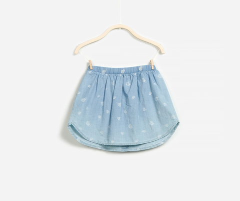 Badminton Print Skirt, Skirts - Little Pancakes