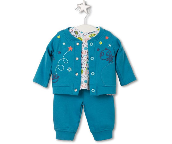 Baby Adventurer Three-Piece Set, Sets - Little Pancakes