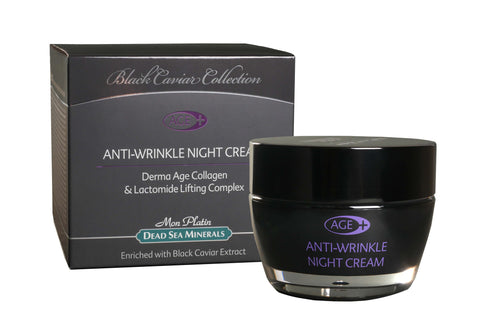 Anti-Wrinkle Night Cream with Black Caviar