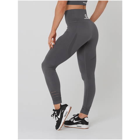 Aurora Tights - Grey by Obsessed Gymwear | MAK Fitness