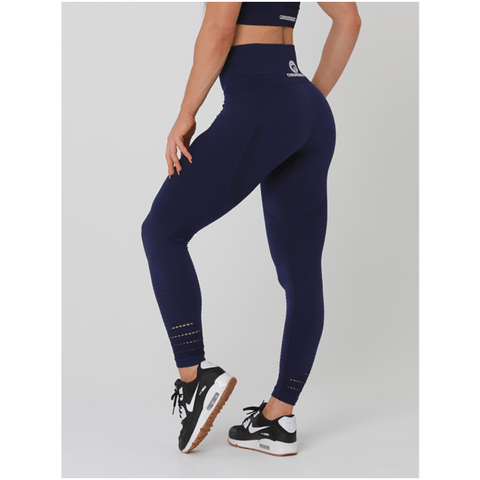 Aurora Tights - Navy by Obsessed Gymwear | MAK Fitness