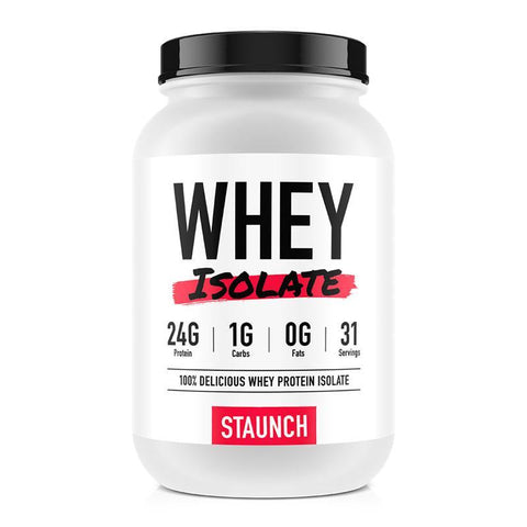 Whey Isolate by Staunch | MAK Fitness