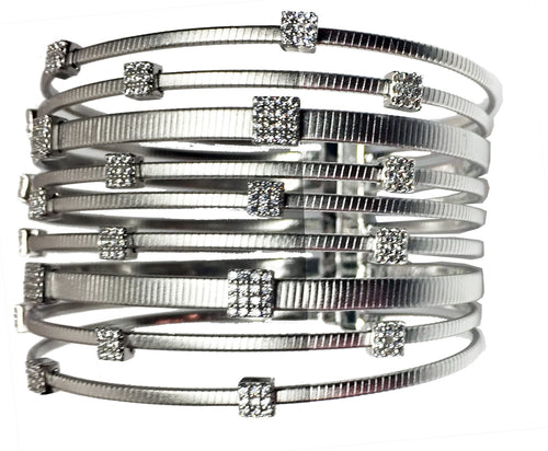 CONTEMPORARY MULTI STRAND CUFF