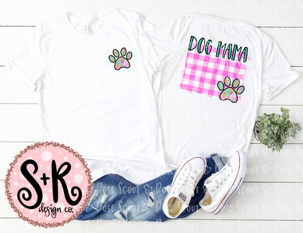 Dog Mama and Paw Sublimation Design (2019)