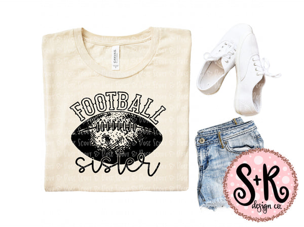 Football Sister SVG DXF PNG (2019)