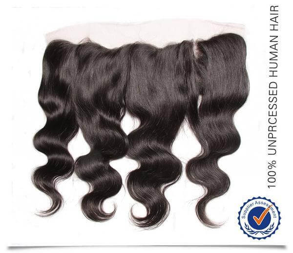 Brazilian Body Wave 3 Bundles with 13*4 Ear to Ear Full Lace Frontal Closure, 7A Hotsale Virgin Hair - Sunberhair