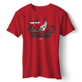ON YER BIKE HONDA T-SHIRT