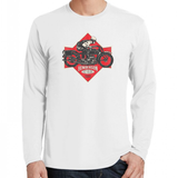 Henderson Motorcycle White Long Sleeve T-Shirt