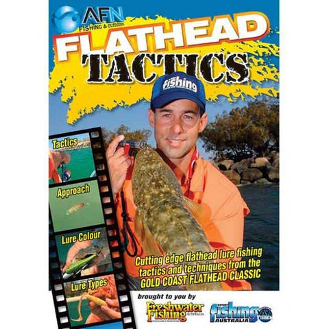 AFN FLATHEAD TACTICS FISHING DVD HOW TO GUIDE *FREE SHIPPING*