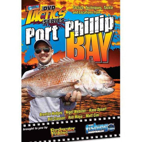 AFN PORT PHILLIP BAY TACTICS FISHING DVD *FREE SHIPPING*
