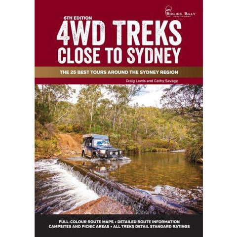 4WD TREKS CLOSE TO SYDNEY - FREE SHIPPING