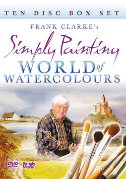 Frank Clarke - Simply Painting - World Of Watercolours - The Complete 10 DVD Box Set  (DVD) cover image