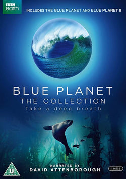 Blue Planet collection Series 1 & 2 (DVD)