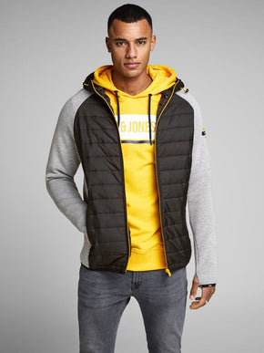 ZIP-UP HOODIE WITH PADDING
