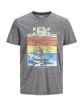 T-SHIRT ORIGINALS À IMPRIMÉ DE SURF ESTOMPÉ