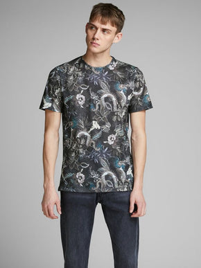 FLOWERS & CREATURES T-SHIRT