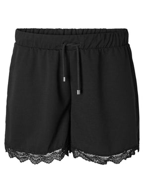 JERSEY SHORTS WITH LACE