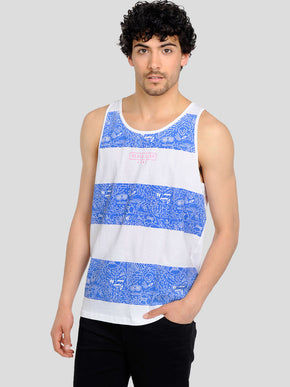 TANK TOP WITH FUNKY DRAWINGS