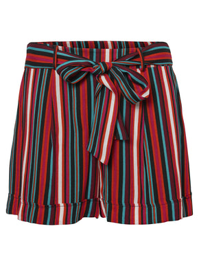 FLUID STRIPED SHORTS