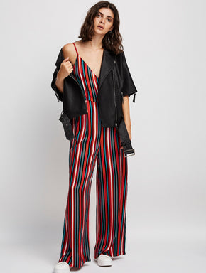 FLUID WRAP JUMPSUIT