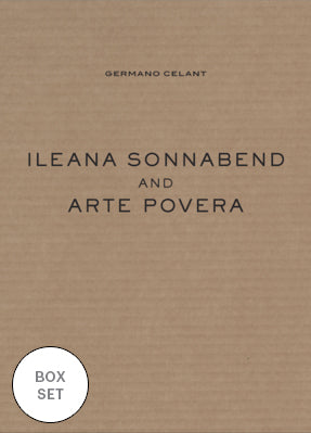 Box Set: Germano Celant | Ileana Sonnabend and Arte Povera