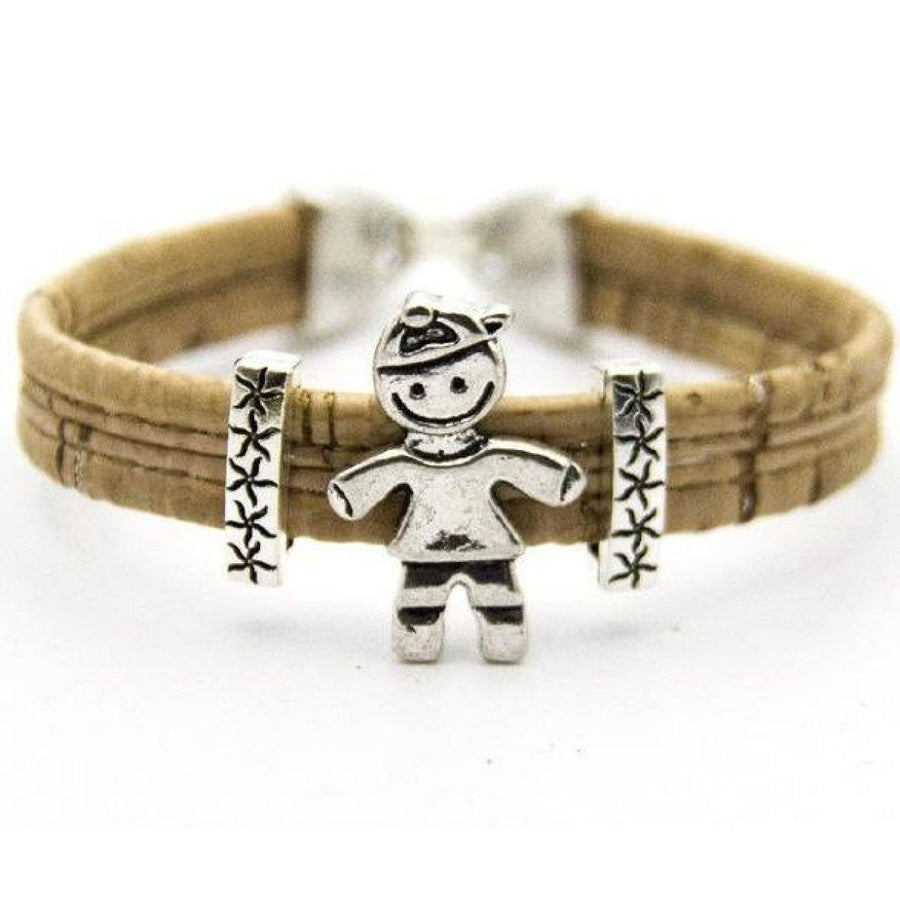 Portuguese Eco Vegan Cork Children Family Son Daughter Girl Boy Handmade Bracelets
