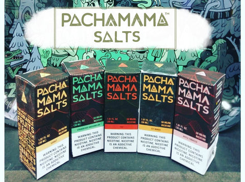 Pachamama Nicotine Salt 30mL by Charlie's Chalk Dust