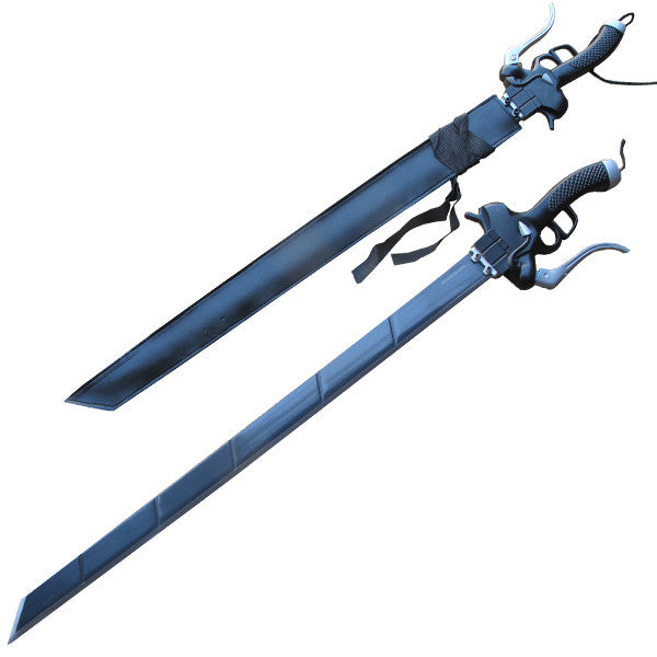 Deadly Alliance Sword with Scabbard, , Panther Trading Company- Panther Wholesale