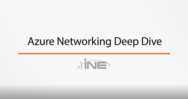 Azure : Networking Deep Dive