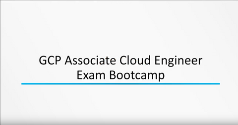 Associate GCP Cloud Engineer