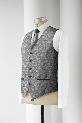 Neil Allyn Men's Paisley Vest