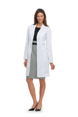 "Dickies White - Dickies Professional Whites 37"" Women's Lab Coat"