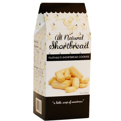All Natural Shortbread Cookies- 8oz - TheMississippiGiftCompany.com