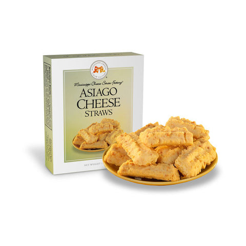 Asiago Cheese Straws- 1 oz - TheMississippiGiftCompany.com
