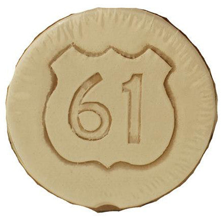 Highway 61 Car Coaster - TheMississippiGiftCompany.com