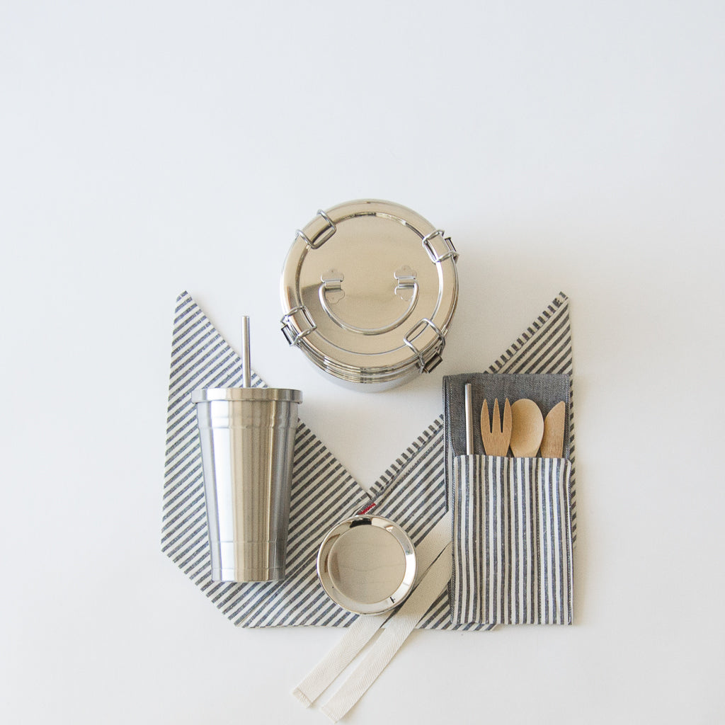 Zero Waste Lunch Kit With Tumbler