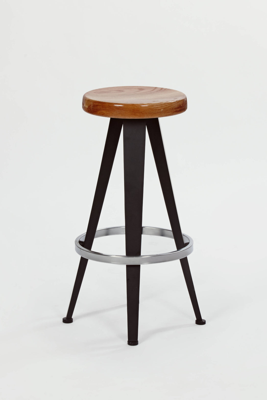 Three Barstools, Design by Jean Prouve - 1980s