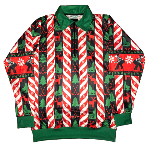 "2018 Hockey Ref Shop ""Ugly"" Holiday Referee Sweater"