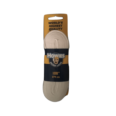 Howies Solid White Referee Skate Laces