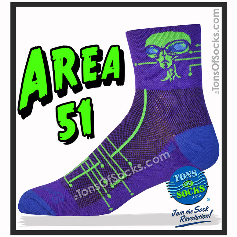 SockGuy Area 51 Performance Socks