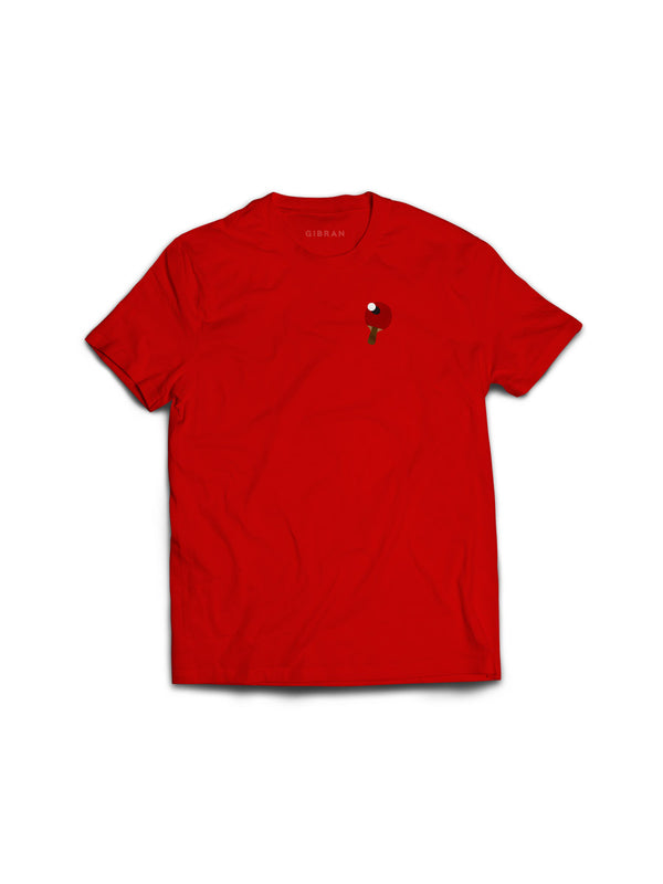 Rally Ping Pong Red Tee