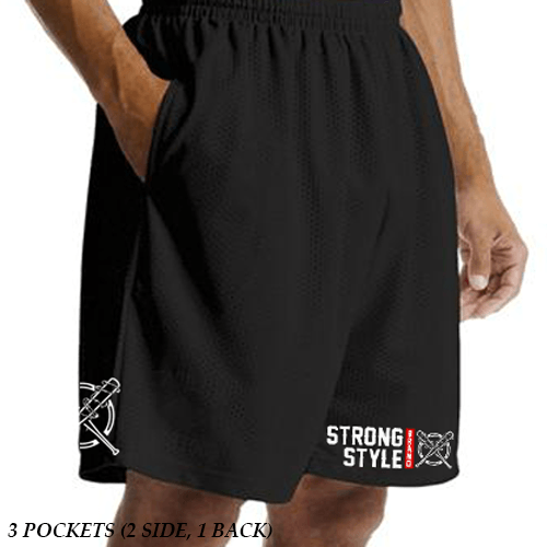 Gym Shorts (SSB LOGO) - Strong Style Brand