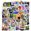 "Image of 50 PCS ""Outer Space"" theme Stickers"