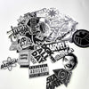 Image of 50pcs Special Edition Metallic Stickers