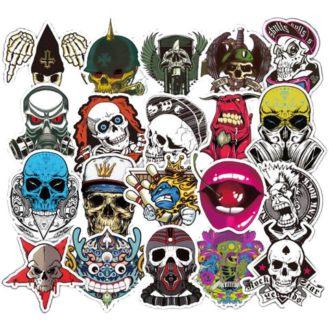 "50 PCS ""The Dead"" Theme Waterproof Stickers"