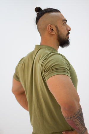 Men's Signature Olive Green - Modern Vision
